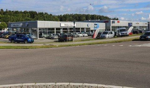 Dahles Auto Fredrikstad er  fortsatt betydelig større enn virksomheten på Råbekken.