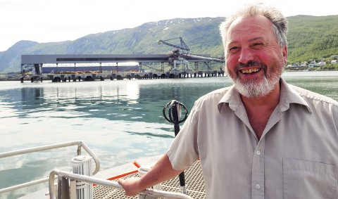 Optimist: Havnedirektør Rune Arnøy er optimist i forhold til mulighetene til å få ny aktivitet ved Northland-kaia. – Teknisk sett kan anlegget startes opp omtrent på timen. Det er ett av fortrinnene vi har i forhold til alternative havner i Sverige og Finland, sier Arnøy.Foto: Terje Næsje