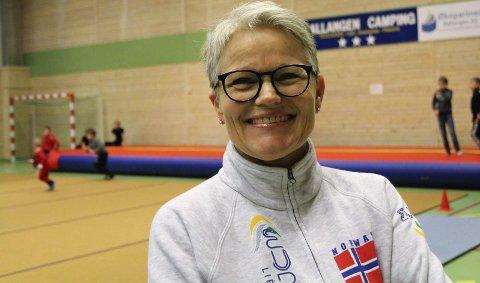 TURNERT I 50 år: Guri Pettersen har turnet i nesten 50 år, og vært trener mesteparten av sitt liv. – Å få jobbe med barn og unge har gitt meg enormt mye glede og energi, sier hun. Foto: Ann Kvanmo