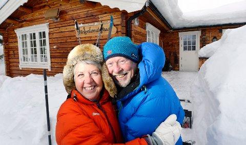 GDHytte Reportasje om Eva Nerland og Brynjar Iversen. De flyttet til hytta på Bjorli.