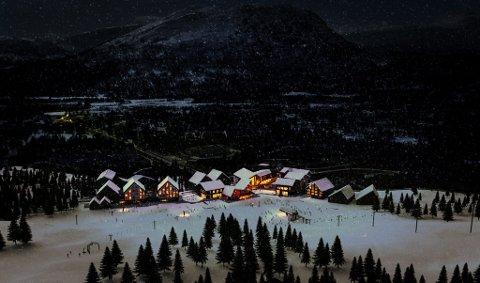 Illustrasjonsfoto fra deler av området i bunnen av alpinbakken.
