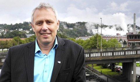 Skuffet: – Utfallet i CO2-saken ble ikke som jeg hadde håpet, sier stortingsrepresentant Eirik Milde (H). Han vil ta ny kontakt med departementet i forbindelse med klagebehandlingen.