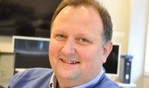 SJEF: Andre Øraas er leder for eiendomsavdelingen i Halden kommune.