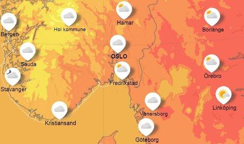ENDRING: Sommeren er langt fra over, men i midten av uka går det mot et værskifte i hele distriktet.