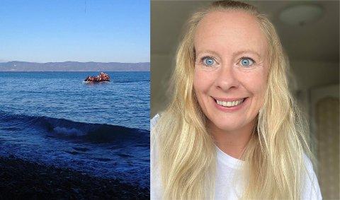 FLYKTNINGHJELP: Flyktningene ankommer øya Levsos og flyktningleieren Moria. Et vanlig syn for Camilla Johansen da hun hjalp til som frivillig for frivillig-organisasjonen Dråpen i Havet i 2016.