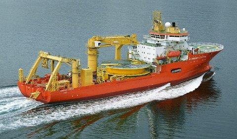 Solstad-skipet «Normand Cutter».