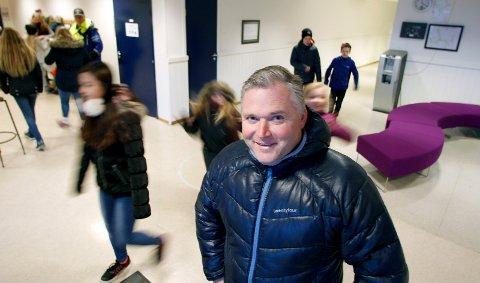 NY JOBB: Ben Jerry Ellingsen slutter som rektor på Sveio skule etter åtte og et halvt år.