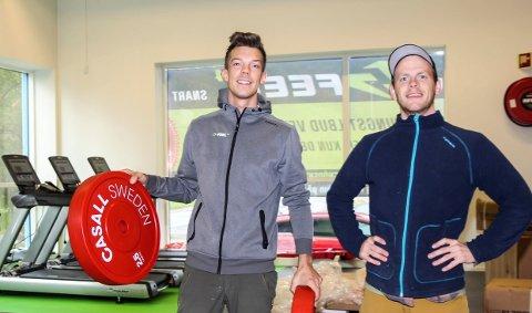 Thomas Nilsen og Mats Ola Martinsen åpnet dørene til Feel24 i Mosjøen på høsten 2019. Allerede i fjor omsatte selskapet for flere millioner kroner.