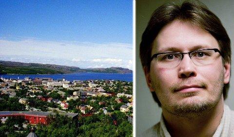 SENTRUM - IKKE UTKANT: Kan Kirkenes være et alternativ som regionsenter dersom Troms og Finnmark slår deg sammen, spør kommentator Skjalg Fjellheim.