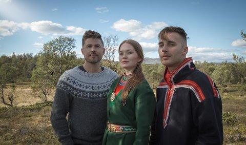 MARJA MORTENSSON TRIO: Dette er er et av de mast hypa samiske bandene for tiden kan festivalsjefen fortelle til iFinnmark.