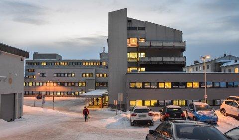 FORNØYD: Hammerfest formannskap vil uttrykke stor tilfredshet med framdrifta av prosjekt Nye Hammerfest Sykehus.