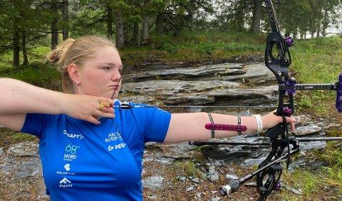 VM-KLAR: Amalie Storelv er klar for sitt første junior-VM