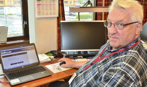 VELGERHJELPEN: Ordfører Jan Mærli har fått velgerhjelp på www.indre.no, selv om det kanskje ikke var helt nødvendig for Arbeiderparti-ordføreren.Foto: Øyvind Henningsen