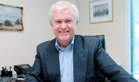 Slutter: Administrerende direktør Odd Nordli i Aurskog Sparebank.