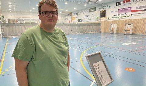 BRUKTE STEMMERETTEN: For aller første gang i livet har Oliver Olsen Ødegård (18) benyttet seg av stemmeretten.