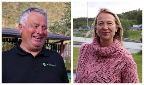 NØKKELROLLER: Peter Talseth (Sp) blir ordfører i Alstahaug, mens Hanne Benedikte Wiig (Rødt) blir ny varaordfører.