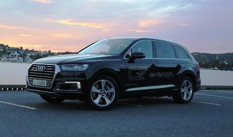 BLIR DYRERE: SUVen Audi Q7 e-tron med ladbar hybridteknologi blir 10.000 dyrere i det nye avgiftssystemet.