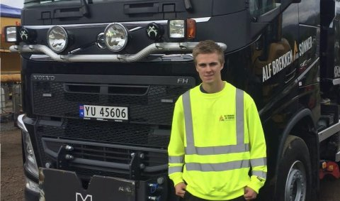 Gleder seg: 19-åringen ser fram til Yrkes-NM i Bergen i oktober. FOTO: Alf Brekken og Sønner
