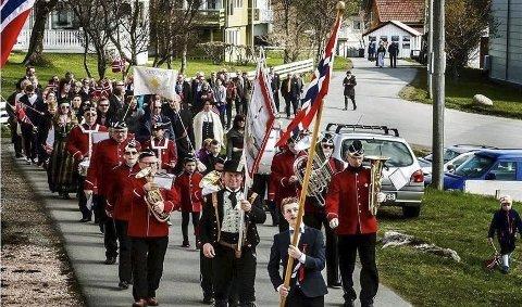 FÅR STØTTE: Skrova skole- og ungdomskorps er et av fem korps i Lofoten som når får 10 000 kroner i støtte. Arkivfoto.