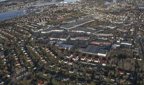 BOLIG OG NÆRING: Arnulf Johannessen i Moss og Omegn tenkepark stiller spørsmål om samspillet mellom nringsutvikling og boligformålsforvaltning.