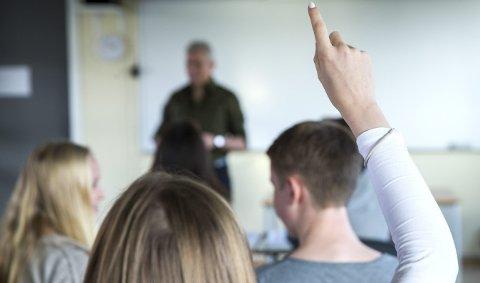 Muligheter: Godt skolearbeid er et godt utgangspunkt for resten av livet.