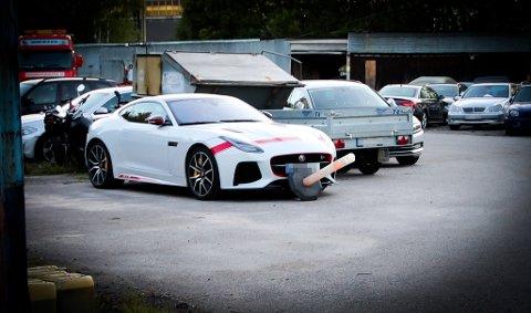 Dette er den omtalte Jaguaren, fotografert ved en tidligere anledning. Foto: Stian Drake