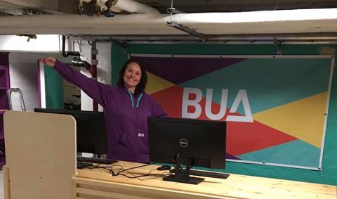 Mariann Staxrud Utstumo jobber for Manglerud frivillighetssentral, og er leder i BUA Østensjø. Hun gleder seg til åpning av de nye lokalene 10. februar.