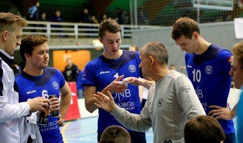 Tross to matchballer mot Nyborg tapte BK Tromsø mot laget som har dominert norsk volleyball de siste sesongene. Foto: Eivind Rinde.