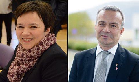 UENIGE: Fylkesrådsleder i Troms, Willy Ørnebakk (Ap), mener Tromsø er det eneste naturlige hovedsete i et sammenslått Troms og Finnmark. Han møter motstand lengst i nord fra fylkesvaraordfører i Finnmark, Ragnhild Vassvik.