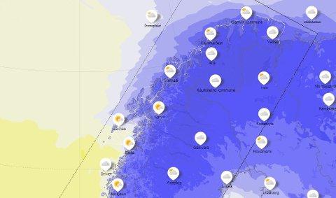 KALDERE ENN GRADESTOKKEN: Temperaturene er normale for januar, men den følte temperaturen er betydelig lavere denne uka.