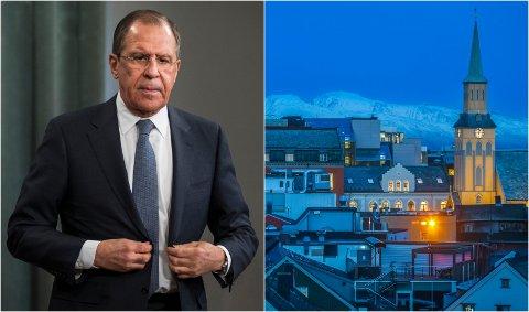 PÅ BESØK: Russlands utenriksminister Sergej Lavrov besøker etter planen Tromsø i oktober.