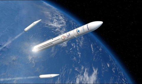 TIL MÅNEN: Et gjennombrudd for Nammos satsing på rakettmotorteknologi, sier Onno Verberne, Nammos direktør for romfart til OA.