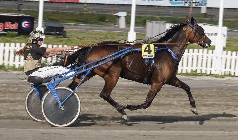SPRINTTRIUMF: SMK Spirit tok en sterk seier sammen med Renate Aarlie.
