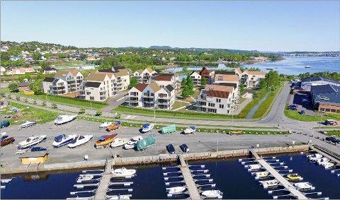 SELGES: Risøyhavna, boligprosjektet til Sverre Sundsten på Risøya, er nå lagt ut for salg, en uke etter at kommunen godkjente utbygging der.