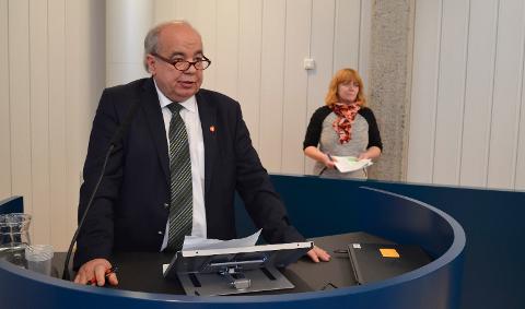 SA NEI TAKK: Per Roar Bredvold sa nei takk til en plass langt nede på Innlandet Frps liste til fylkestingsvalget. Tiden som fylkespolitiker er slutt etter denne perioden. (Foto: Bjørn-Frode Løvlund)