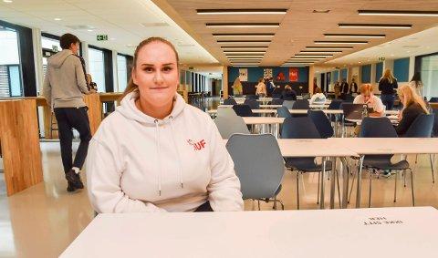 TILTAK MOT NETTHETS: Maja Cvetkovic ønsker at Innlandet AUF skal ta avstand fra netthets.