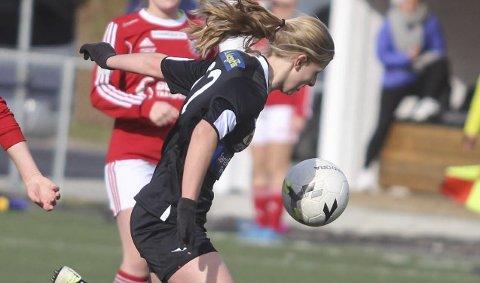 Urædds nye midtbanetalent: Mari Løyland har vokst med tilliten hun har fått fra Kurt Semb og Urædds trenerteam.