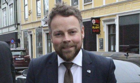 VIL HA FRITAK: Torbjørn Røe Isaksen ønsker fritak fra bystyret.