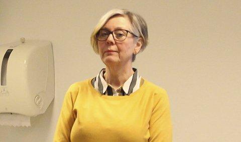 ORIENTERTE: Anne-Melie Henriksen ved Psykiske helsetjenester.