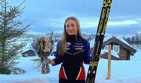 FIKK STIPEND: Ine Bjaadal Winberg fikk stipend for 2020.