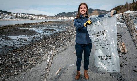 Prosjektleder for Rent Hav Helgeland, Merethe Aasen, forteller at mange av stedene på kysten har det aldri vært ryddet marint avfall tidligere.