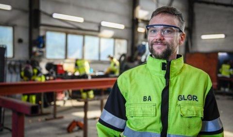 I et halvt år har Benjamin Aspdal (34) vært daglig leder i Glør AS.