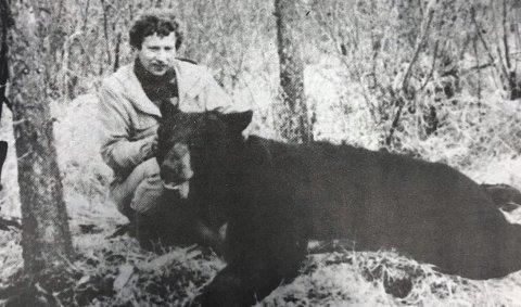 JAKT: Tor Danielsberg fra Næroset felte to bjørner.