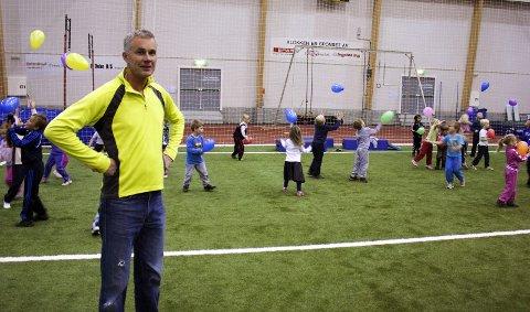 Torstein Ingvaldsen er fornøyd med oppmøtet på alldiretten. 23. oktober 2010
