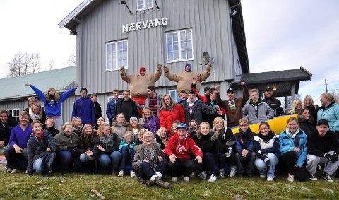 """BygdeUngdom samlet til """"Ækksjnviken"""" i Næroset. 11. november 2010"""