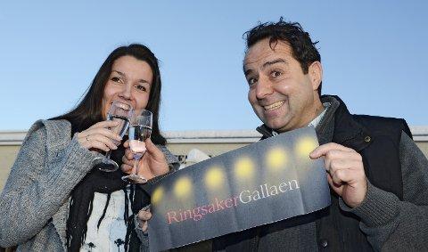 Ringsakergalla: Byutvikler Monica Olsen og kultursjef Asle Berteig ønsker å samle til fest i Ringsakergalla. 13. januar 2011