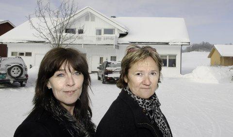 Merete Koppang og Tove Engebakken. 24. februar 2011