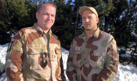 Stian Bergengen og Vegar Haave. 31. mars 2011