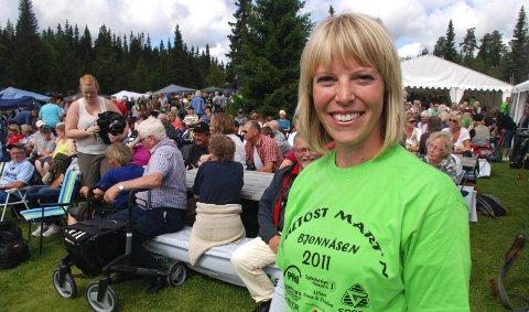 Pultost: - Det er første gang jeg er på Pultostmart'n, og det blir garantert ikke den siste, sier Charlotte Mohn, kokken fra Solør. 9. august 2011