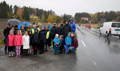 ØNSKET BLIR OPPFYLT: Politikerne i Ringerike sa ja, og dermed blir det gang- og sykkelvei mellom Hesselberg og Putten.